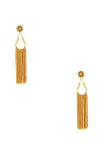 gold-plated-dangling-earrings-with-chain-accents