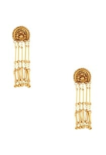 gold-plated-dangling-earrings