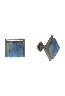 black-blue-handcrafted-brass-cufflinks