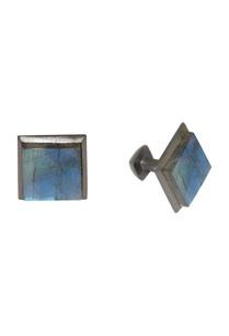 black-blue-handcrafted-brass-cufflinks