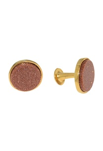 peach-shimmer-gold-plated-handcrafted-cufflinks