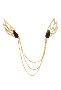 gold-plated-collar-pin-with-multiple-chains