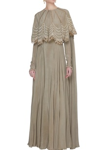 grey-crepe-silk-zardozi-work-anarkali-with-cape