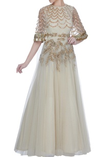 ivory-pearl-bead-embellished-net-anarkali-gown