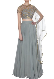 grey-net-crepe-silk-box-pleated-lehenga-set