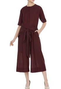 muga-silk-jumpsuit-with-wrap-belt