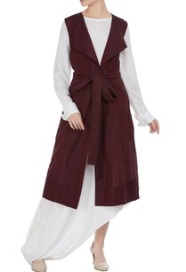 long-draped-kurta-with-jacket