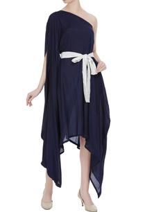 one-shoulder-asymmetric-dress