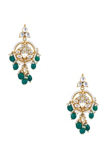 kundan-pearl-dangling-earrings