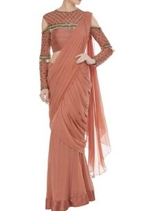 tassel-pre-draped-saree
