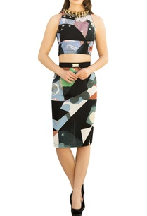 multicolored-georgette-embroidered-crop-top-with-pencil-skirt