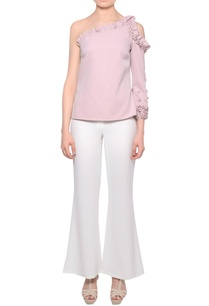 blush-pink-one-shoulder-3d-bead-embroidered-blouse