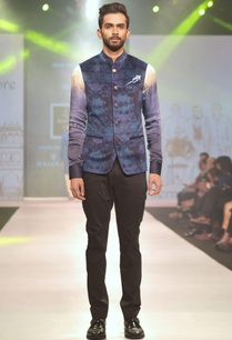 blue-purple-printed-nehru-jacket
