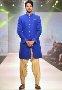 royal-blue-achkan-jacket