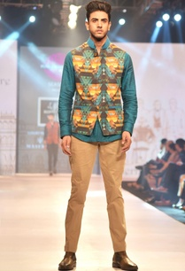 multicolored-printed-linen-nehru-jacket