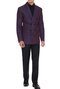 purple-linen-solid-double-breasted-jacket