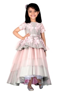 grey-pink-taffeta-silk-net-gown