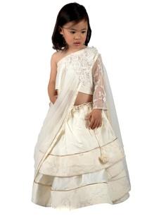 marble-white-taffeta-silk-lace-lehenga-set