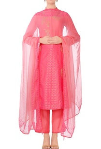 coral-pink-embroidered-straight-kurta-with-slim-fit-pants-dupatta