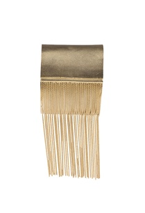golden-brass-tassel-cuff-bracelet