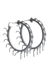 black-brass-hoops-with-tassel