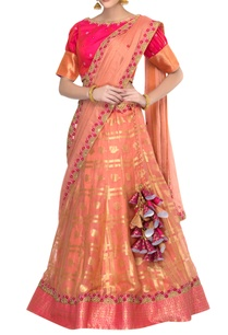gold-peach-handwoven-kota-lehenga-set
