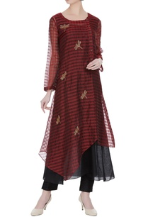 hand-embroidered-tunic-with-uneven-hemline