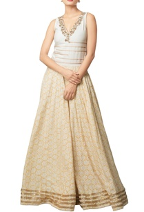 multi-colored-khadi-cotton-embroidered-long-dress