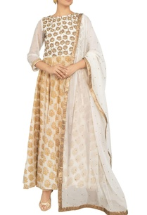 multi-colored-khadi-silk-chanderi-net-zardozi-embroidered-anarkali-kurta-with-churidar-dupatta