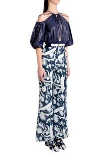 sapphire-sheeter-italian-jersey-izu-juno-printed-jumpsuit-with-puffed-sleeves