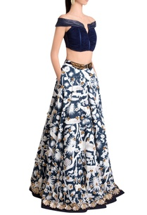 white-diamond-weave-jersey-izu-juno-printed-embellished-long-skirt