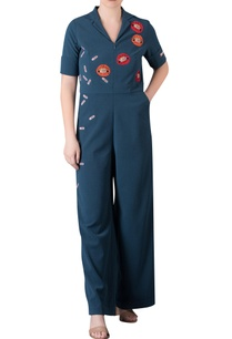 applique-work-jumpsuit-with-utility-pockets