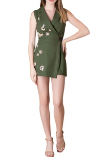 olive-green-gabardine-playsuit