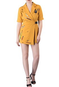 mustard-yellow-stationery-themed-playsuit-in-hand-embroidery