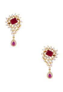 drop-earrings-with-pink-cubic-zirconia-stones