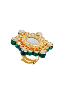oversized-floral-statement-ring-with-kundan