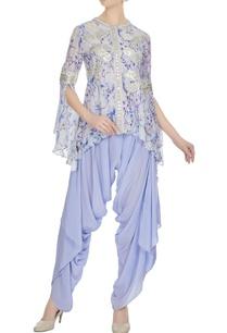purple-floral-printed-crepe-silk-kurta-with-dhoti-pants