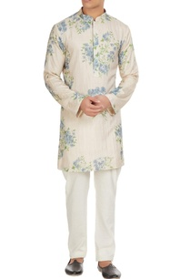 white-floral-printed-kurta-with-spun-silk-churidar