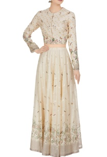 floral-butterfly-motif-cotton-silk-lehenga-set