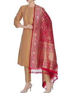 banarasi-silk-animal-brocade-pattern-dupatta