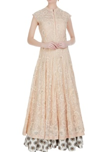 threadwork-embroidered-double-layered-dress
