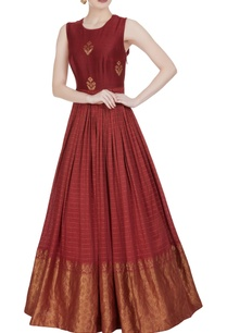 long-anarkali-style-printed-gown