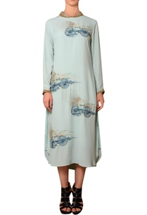 mint-blue-viscose-georgette-bead-thread-hand-embroidered-dress