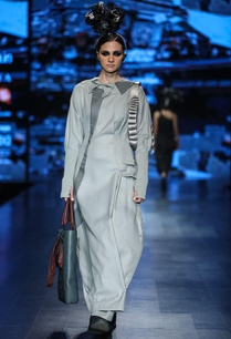 grey-poly-wool-embellished-maxi-dress