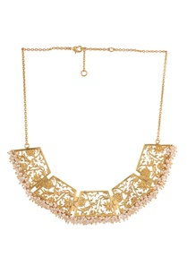 gold-brass-plated-necklace-with-pearl-beads