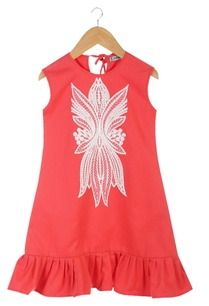 red-organic-cotton-sleeveless-drop-waist-dress