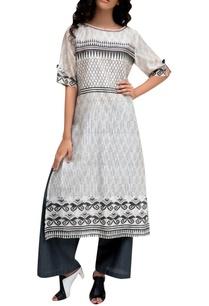 white-chanderi-printed-tunic