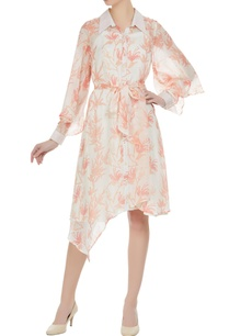 peach-orange-pepper-silk-dress-with-inner
