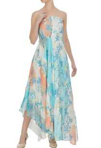 block-printed-floral-hand-embroidered-asymmetric-dress