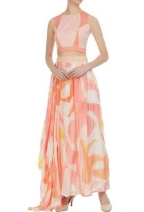 brush-painted-hand-embroidered-draped-skirt-set